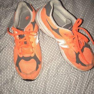 Neon Orange New Balances